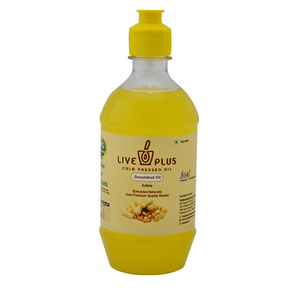 Groundnut Oil 1000 ml (Cold Pressed)