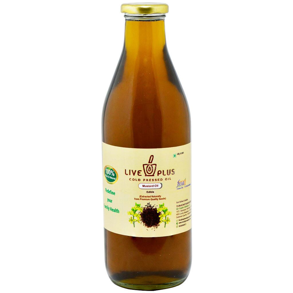 Mustard Oil 500 Ml (Cold Pressed)