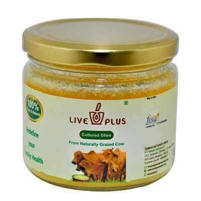 100% Pure Cultured Cow Ghee 250 Ml