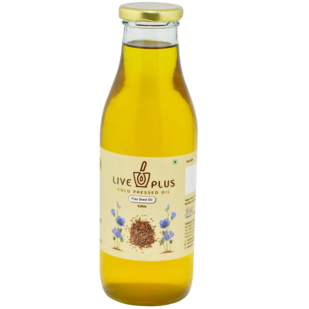 Flaxseed Oil 500 ml (Cold Pressed)