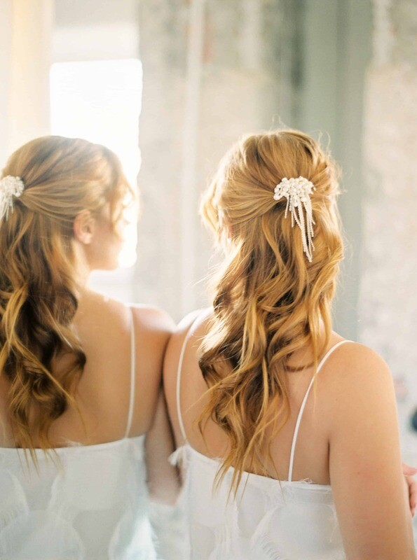 Bridal hair piece EVE