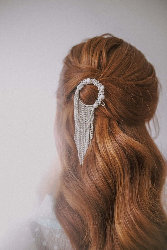 CHRISTINA luxury bridal headpiece