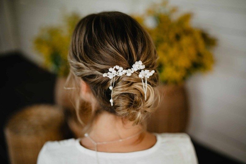 GABRIELLE bridal hairpin set