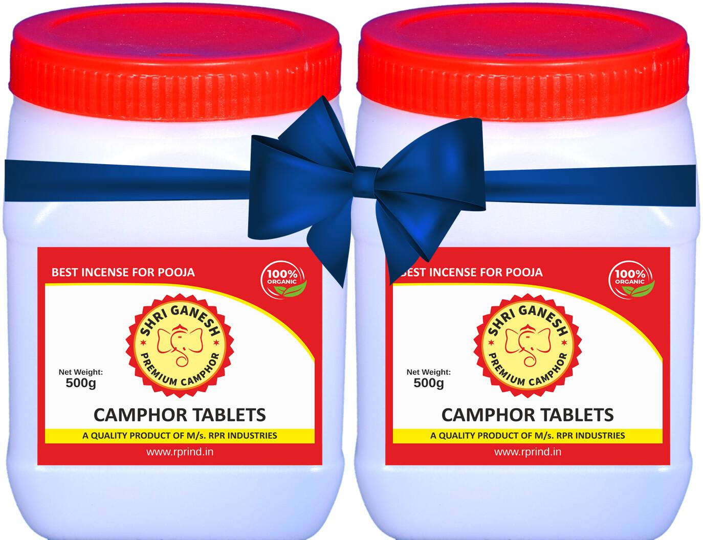 Shri Ganesh Premium Camphor Tablets - 1kg