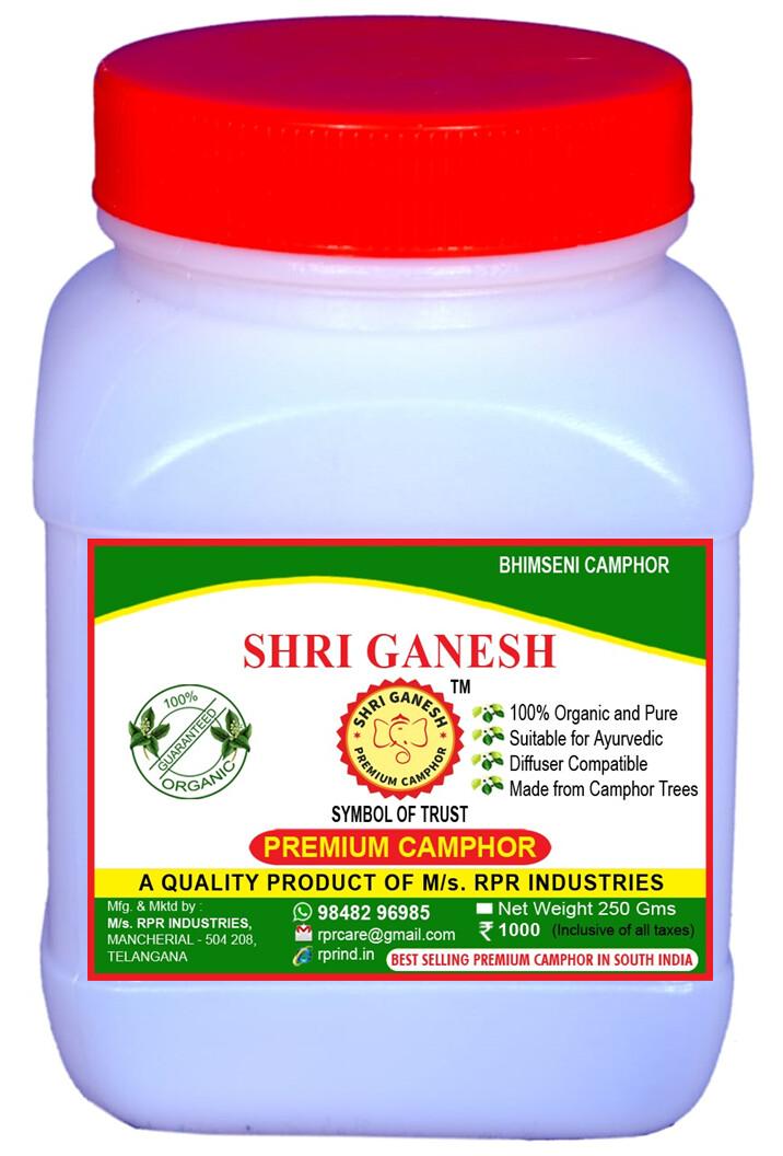 Shri Ganesh Premium Bhimseni Camphor Flakes - 250g