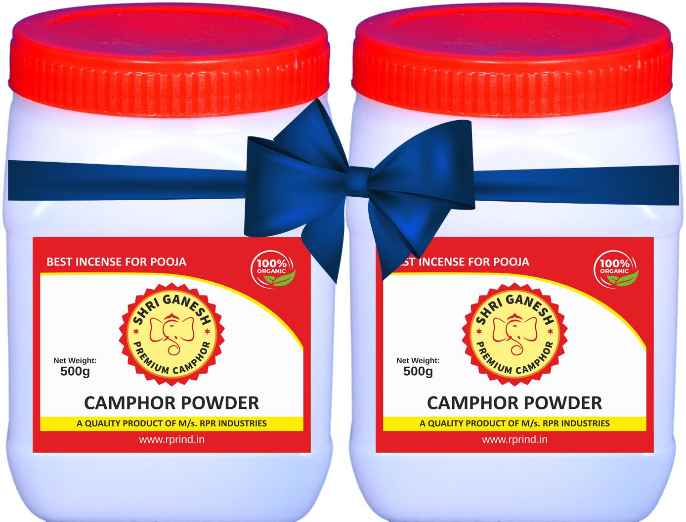 Shri Ganesh Premium Camphor Powder - 1kg