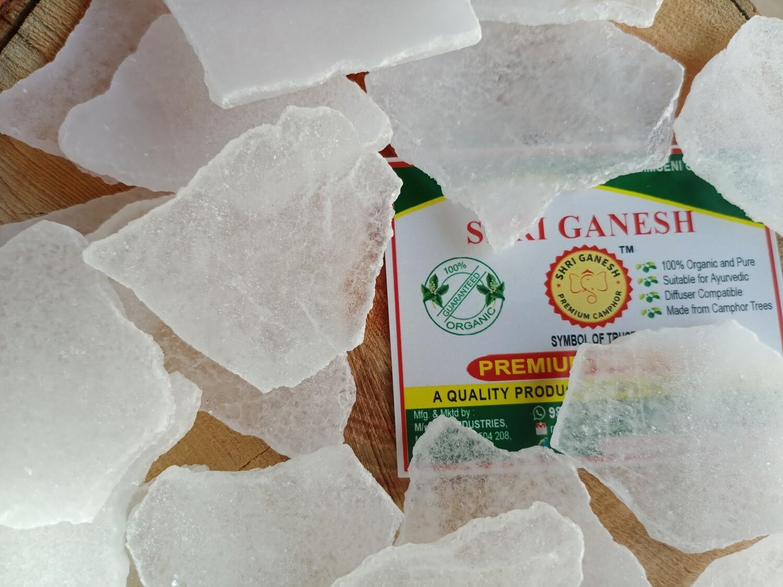 Shri Ganesh Premium Bhimseni Camphor Flakes - 500g