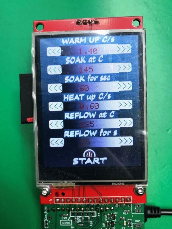 TFT Teensy Reflow Controller