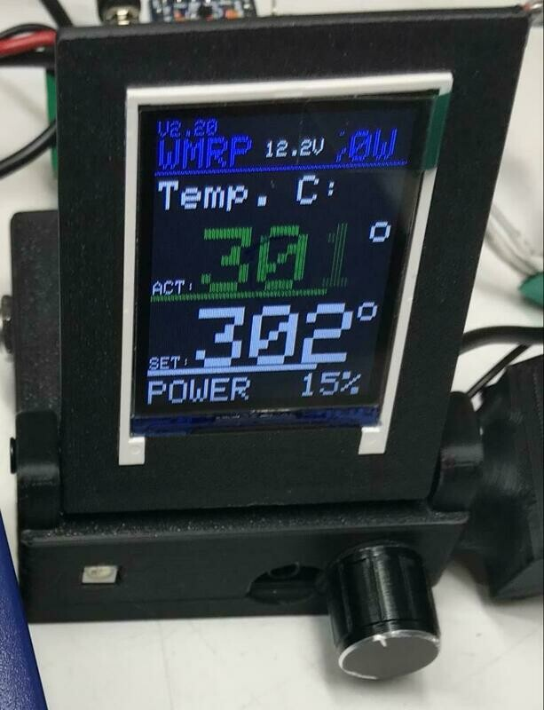 Weller Controller for RT Tips  - Soldering controller with Display