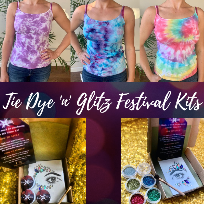 Tie Dye 'n' Glitz Festival Kits