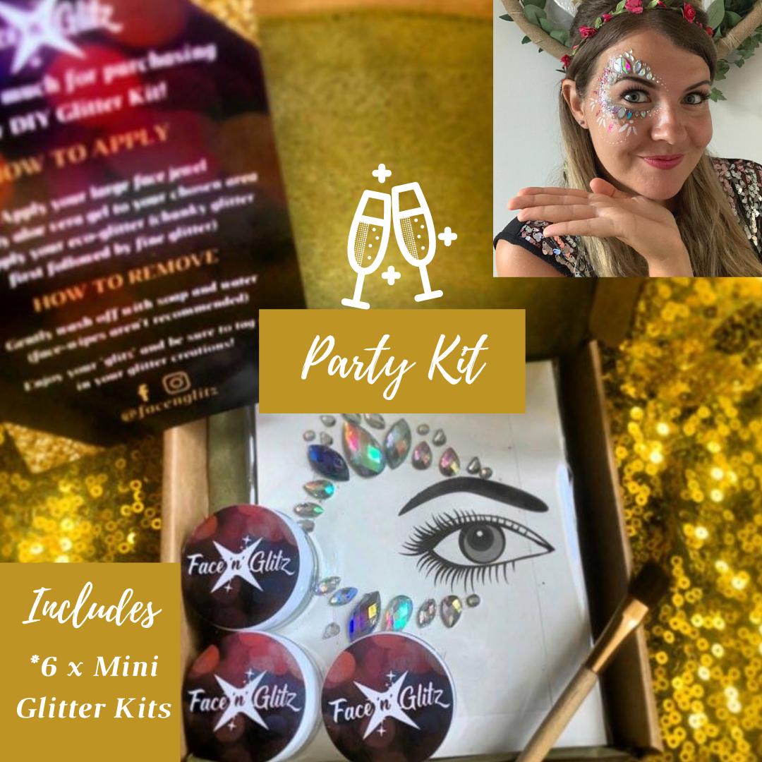Party Kit (total of 6 Mini DIY Glitter Kits) *MULTI-BUY DISCOUNT*