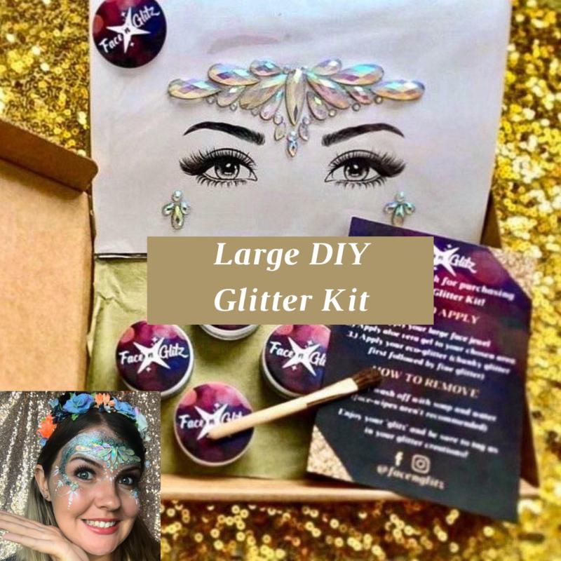 1 x Large DIY Glitter Kit