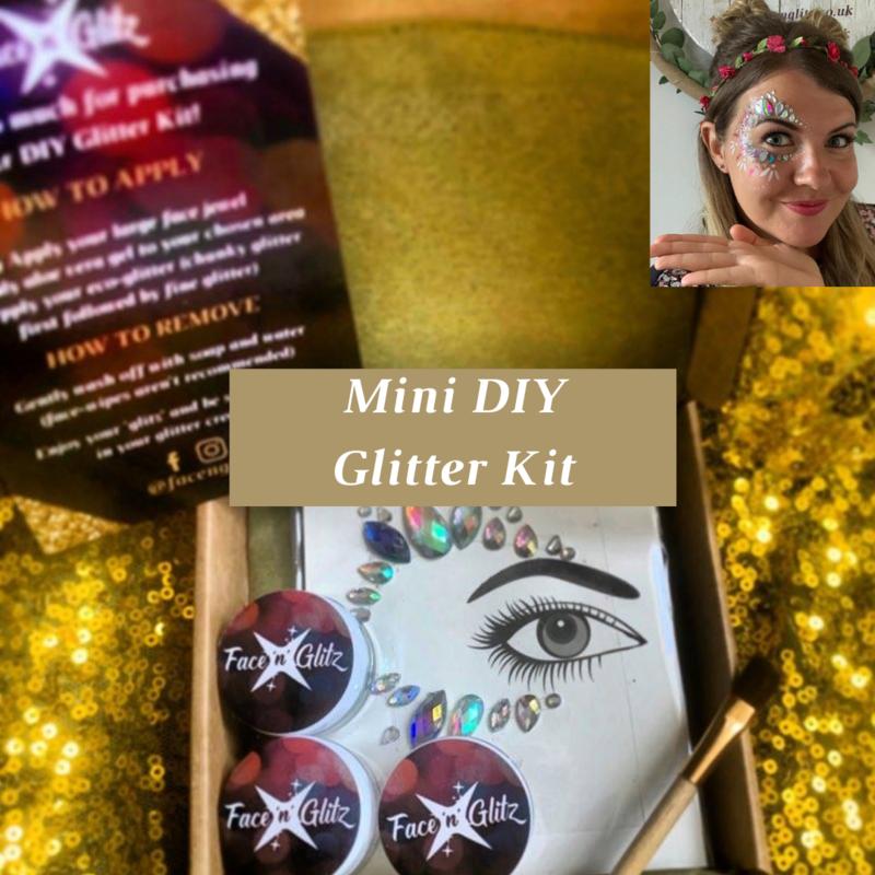 1 x Mini DIY Glitter Kit