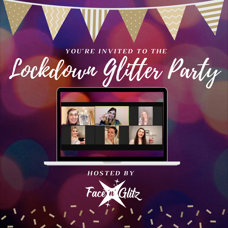 Lockdown Glitter Party Kit