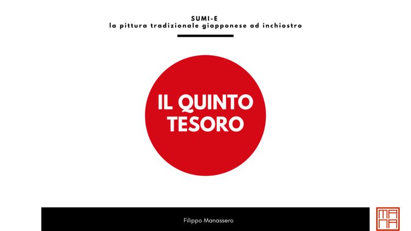 Il Quinto Tesoro - introduzione al Sumi-e