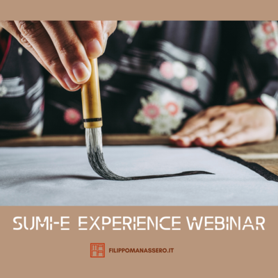 21 marzo SUMI-E EXPERIENCE WEBINAR