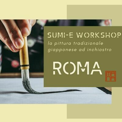 17-18 OTTOBRE SUMI-E WORKSHOP A ROMA
