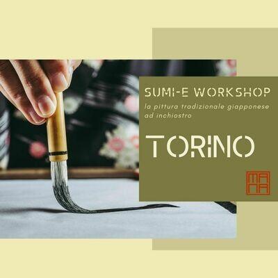 26 SETTEMBRE SUMI-E WORKSHOP A TORINO