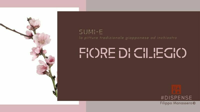 #Manuale di Sumi-e: fiore di ciliegio