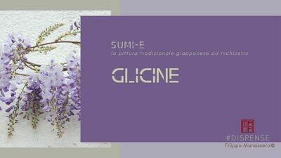 #Manuale di Sumi-e: glicine