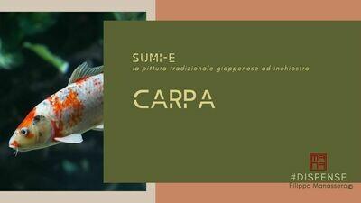 #Manuale di Sumi-e: carpa