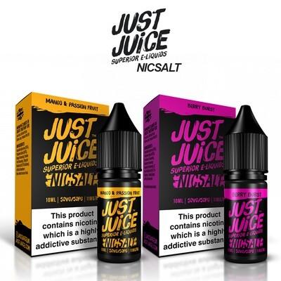Just Juice Nic Salts 10ml