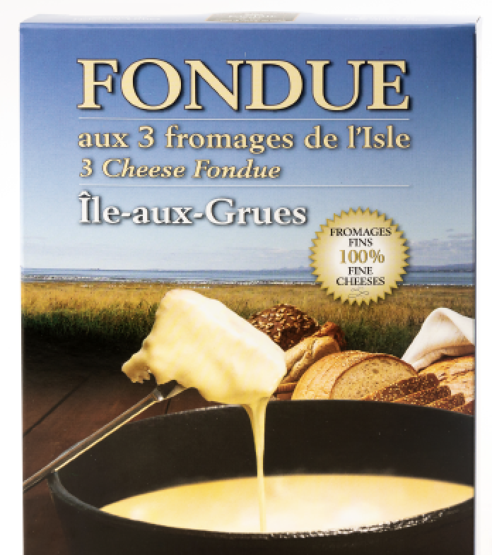 Fondue aux 3 fromages de l'Isle