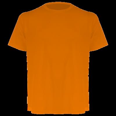 Camiseta masculina laranja