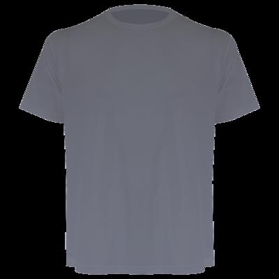 Camiseta masculina cinza chumbo