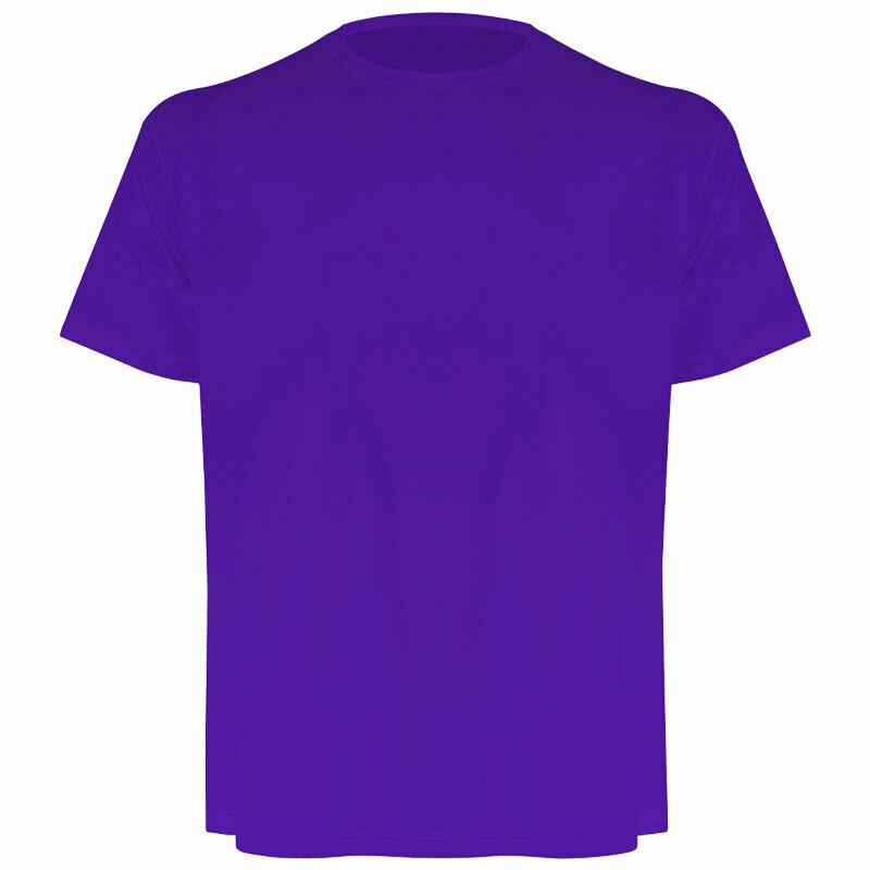 Camiseta masculina roxa