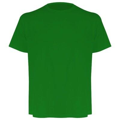 Camiseta masculina verde bandeira