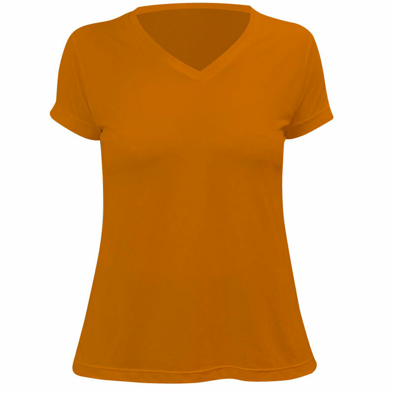Baby look laranja