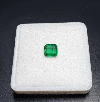 Sq.Emerald cut 2.43 ct