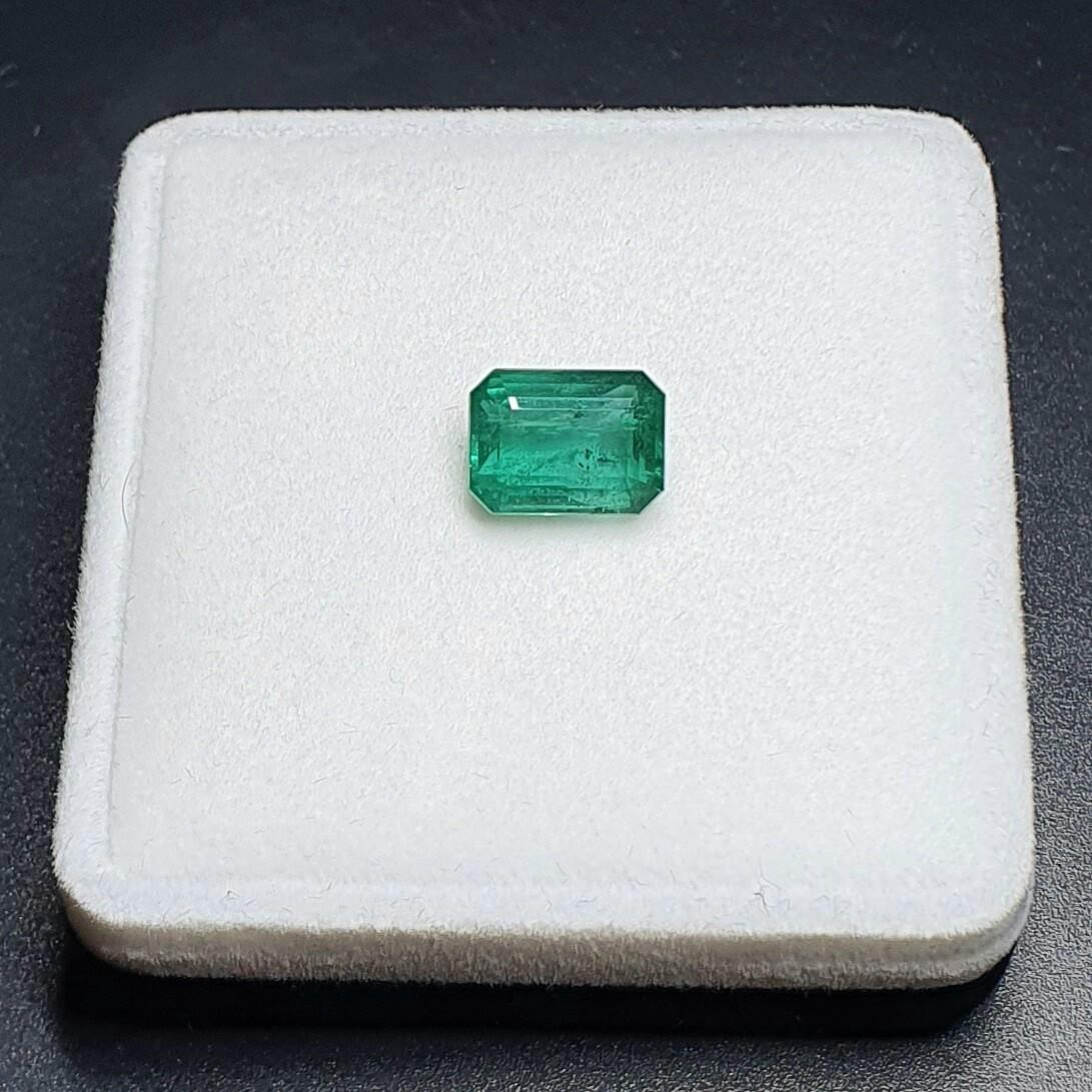 Emerald octagon cut 3.80 ct