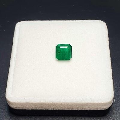 Sq.Emerald cut 2.64 ct