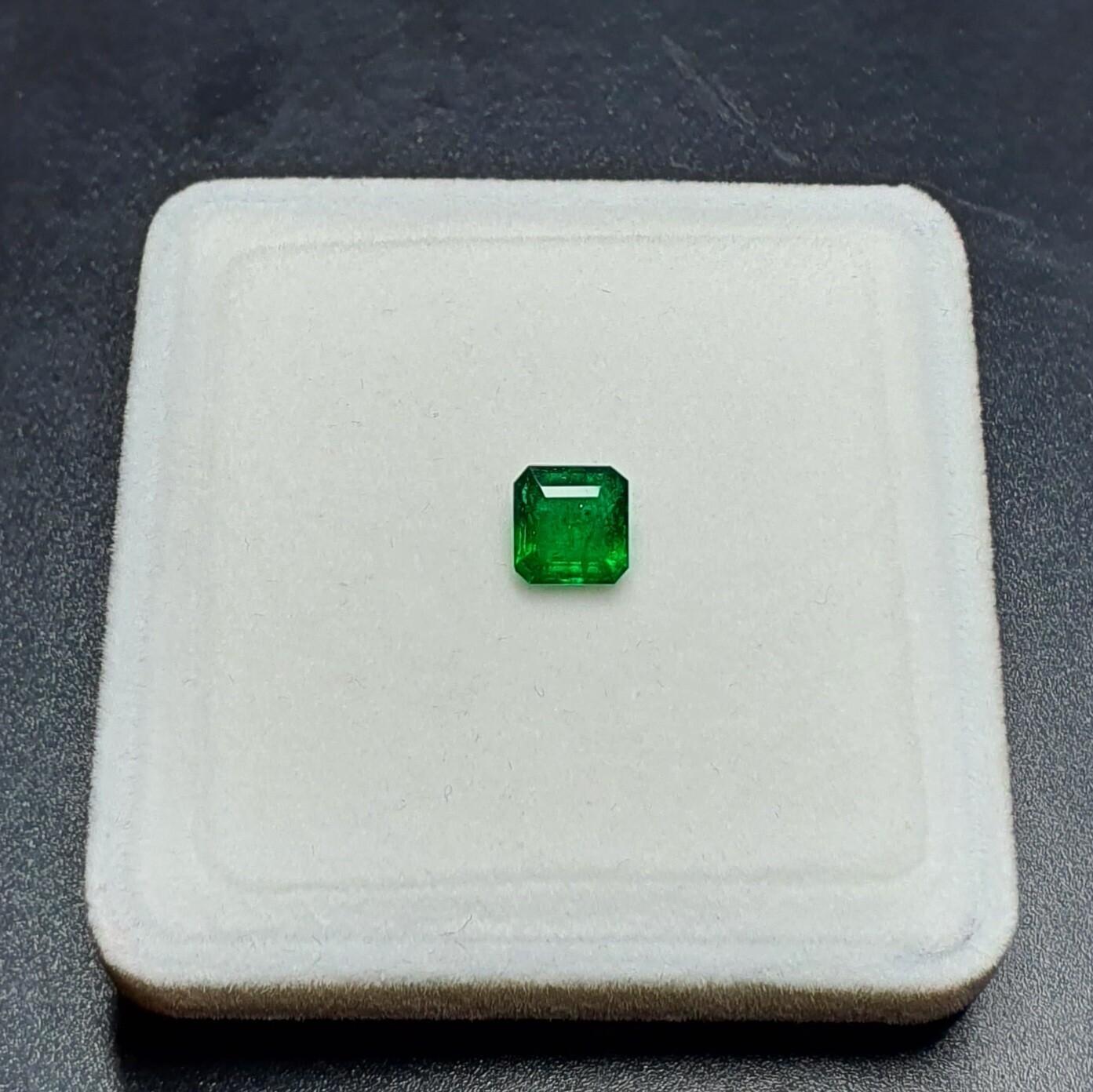 Sq.Emerald cut 1.34 ct
