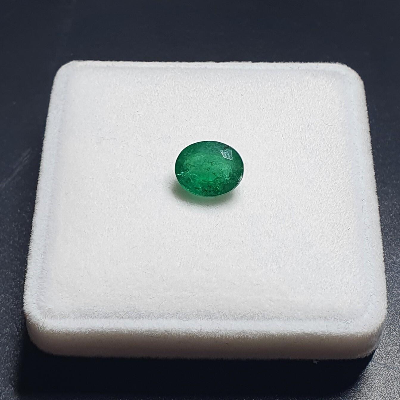 Emerald Oval cut 3.08 ct