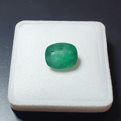 Emerald Cushion cut 12.83 ct