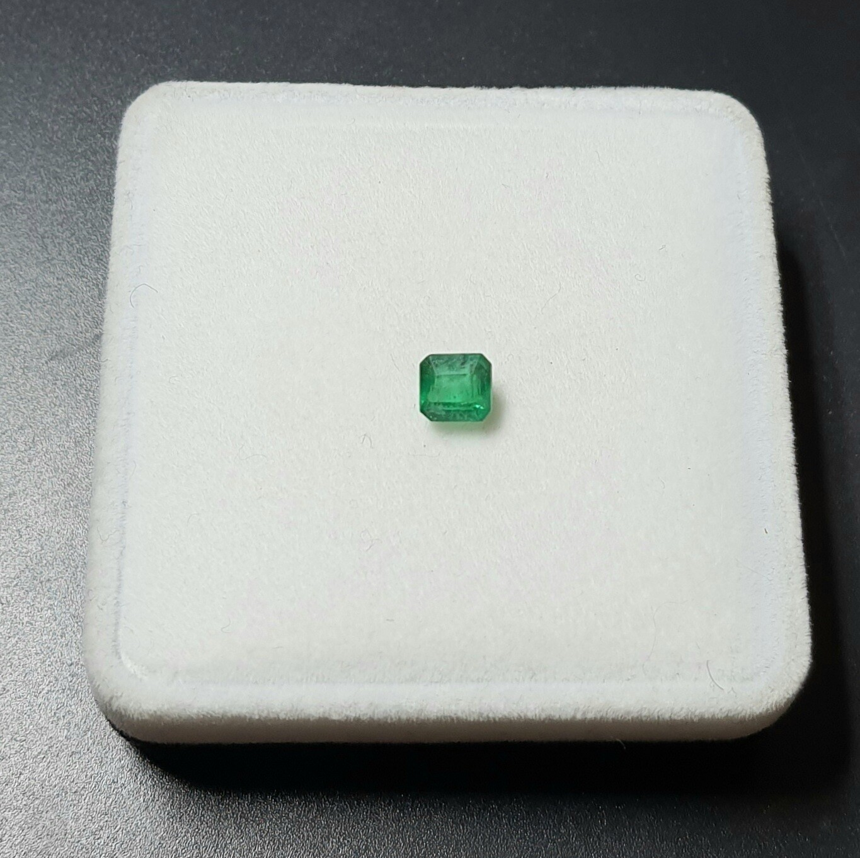 Sq.Emerald 0.80 ct