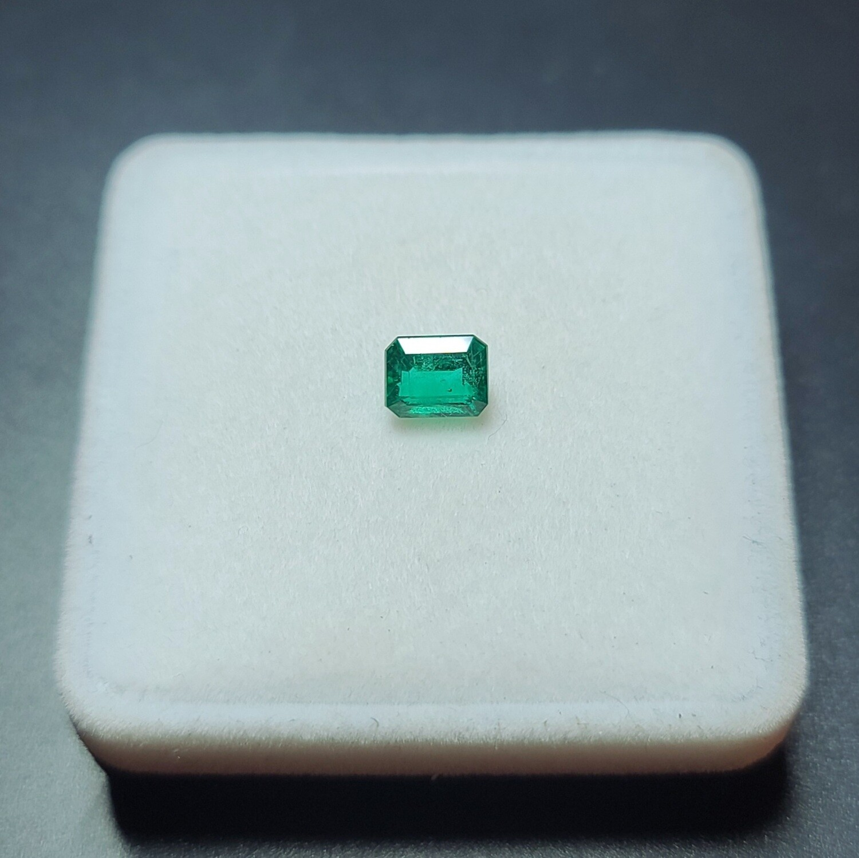 Emerald octagon cut 1.48 ct