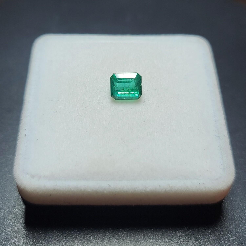 Emerald octagon cut 2.35 ct