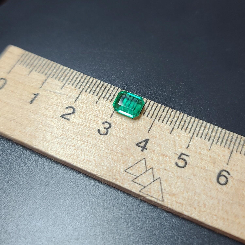 Emerald octagon cut 1.20 ct