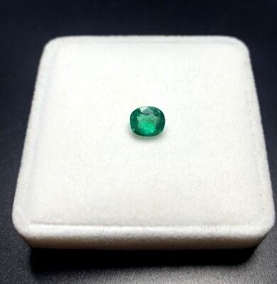 Emerald Cushion cut 1.22 ct