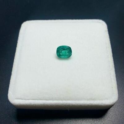 Emerald Cushion cut 1.48 ct