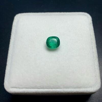 Emerald Cushion cut 1.72 ct