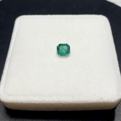 Sq.Emerald cut 0.74 ct