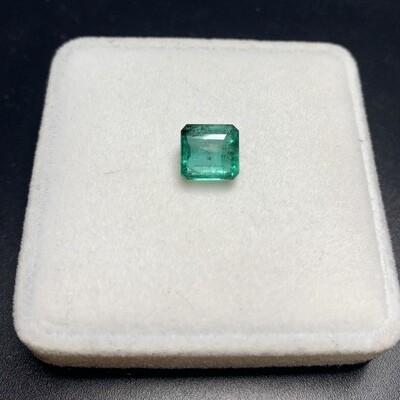 Sq.Emerald cut 2.86 ct