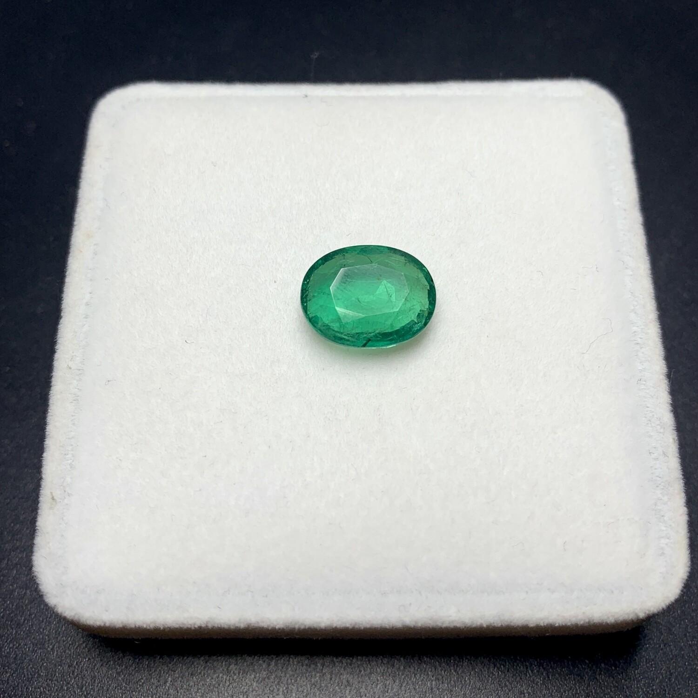 Emerald Oval cut 3.37 ct