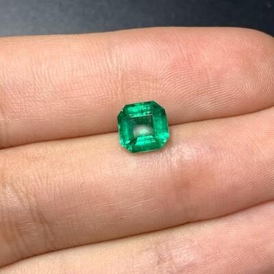 Sq.emerald cut 1.30 ct