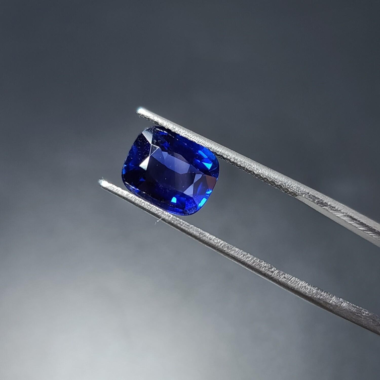 Sapphire Emerald cut 3.50 ct